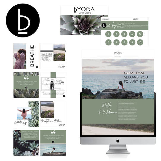 bYoga, Byron Website, Rubi Creations Digital, Byron Webiste Designer, GoldCoast Website Designer, Gold Coast Graphic Designer